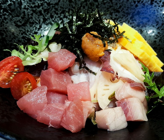 DIY Kaisen Bowl ($15.50 for 4 toppings)
