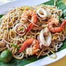 Hokkien Fried Prawn Mee ($8)