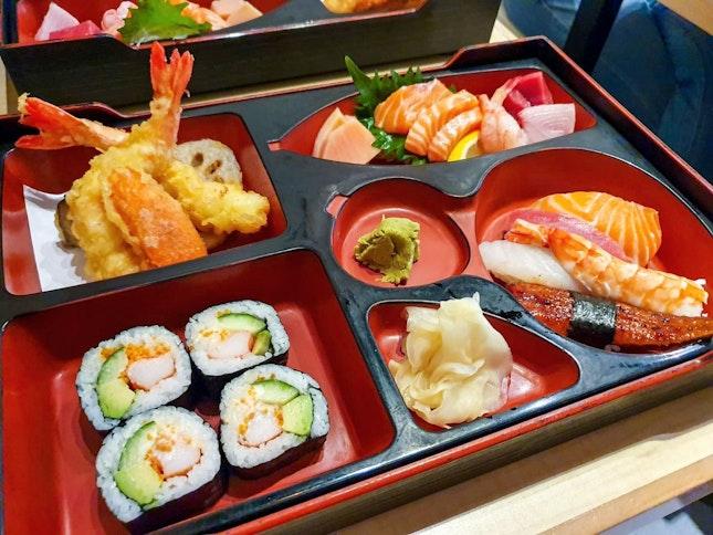 Matsuzushi Bento ($27)
