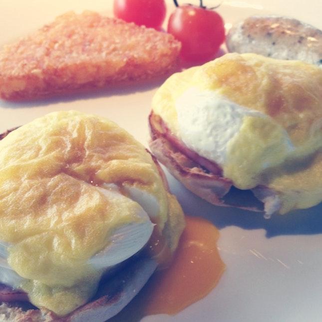 Egg Benedict For Breakfast :-)