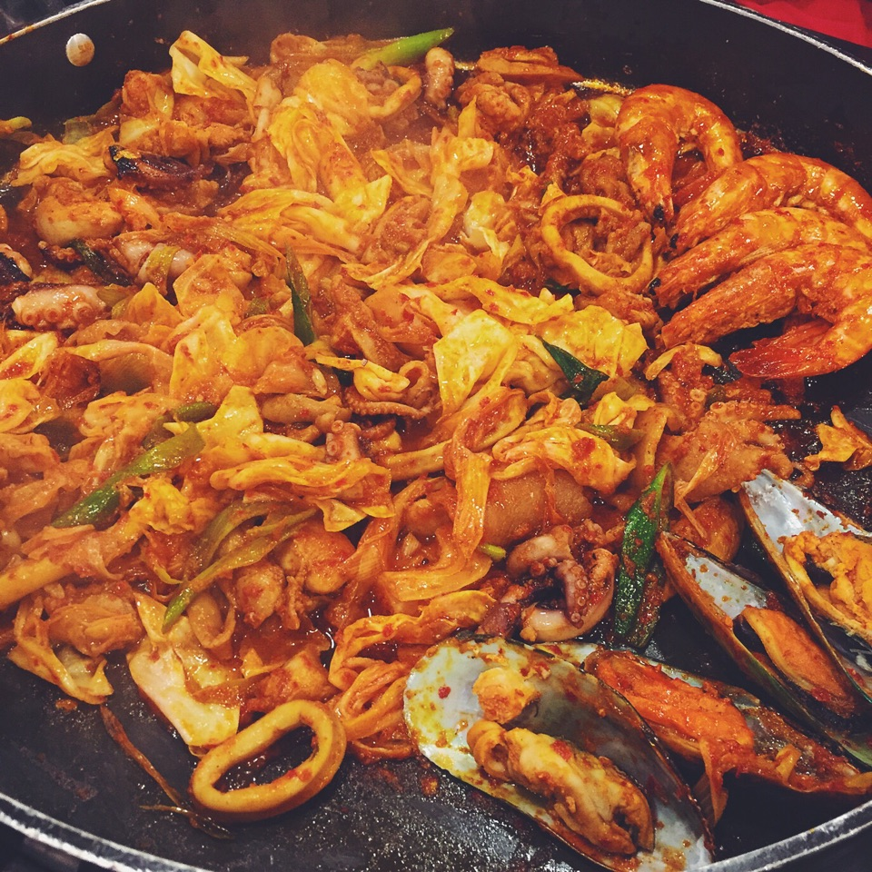 Chicken and Seafood Galbi