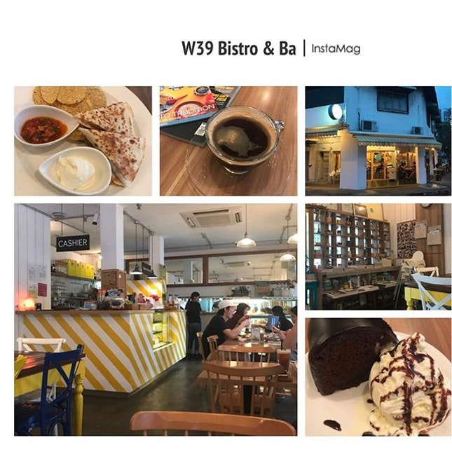 W39..a nice bistro in the west with a youthful vibe & good collection of bites..