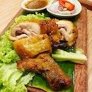 Gai Op Pattaya Thai Style Roasted Chicken Thigh!