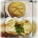 看似平凡,內有乾坤。Green Angel Matcha Bun (RM3.50) #HighTea #315pm #bakeplan #bakery #ss2 #burpple #MatchaLover