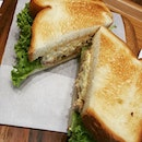 Can't decide where to have lunch..head to Doutor Japanese Coffee Chain and grab the teriyaki chicken & tamago sandwich which comes with generous amount of teriyaki chicken, egg mayo, lettuce, tomato and wasabi mayo..Delicious∼∼ * * *Teriyaki Chicken & Tamago Sandwich (RM13)  #lunch #japanesefusionfood #japanesecoffeechain #burpple #burpplekl #sandwich