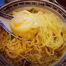 米芝莲招牌云吞面。。👍👍👍($29)  #burpple #hkstylewantonmee #central #hkfoodie