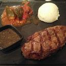 Steak Raclette Dinner