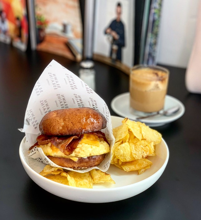 Breakfast Burger 13.9bucks