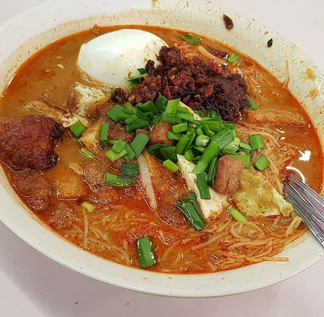 The famous Mee Siam ($3)!