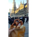 Brezel (€0.70 = approx SGD 1.12) - a must to eat snack in Germany!