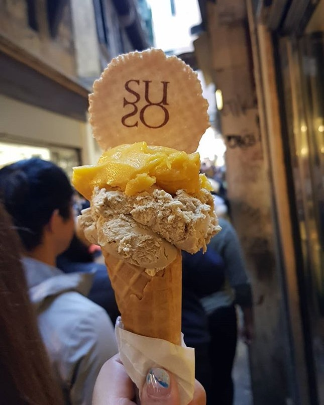 The must go Gelato Shop when you are in Venice!