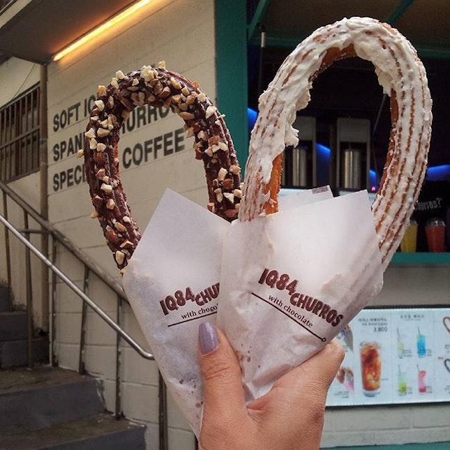 #iq84churros #churros #samcheongdong #seoulcafes #cafehunt #cafehopping #cafehop #seoul #korea #travel #travelgram #holiday #igsg #sgig #instasg #sgfoodies #sgigfoodies #onthetable #instatravel #foodphotography #foodstagram #burpple #openricesg