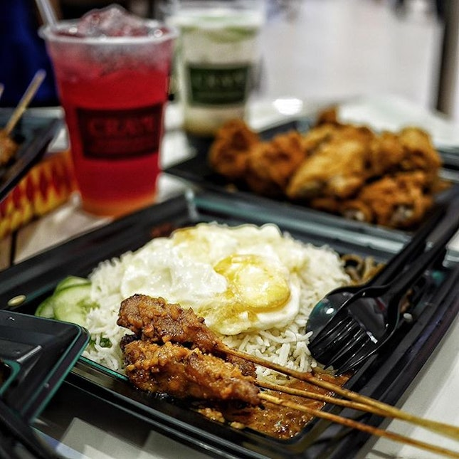 Satay Nasi Lemak Set at $5.90.