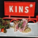 My kind of Tuna @kinsrestaurant Perfectly done that you can see the contrast of the grilled and the fresh Tataki Tuna.