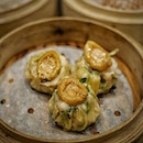 Dim Sum time @lanting_sg This one if their signature Abalone Dumplings.