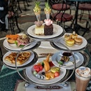 High Tea (HK318 for 2 pax) at the Corner Cafe located just right in the Hong Kong Disneyland.