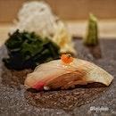 Omakase dining experience at Sushi Murasaki @murasakisg .