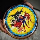 After the release of Disney Princess and Beauty and the Beast in May 2017, Swensen's has introduced some NEW range of DC Comics Superhero-designed ice cream cakes from the Justice League (Batman, Superman, Wonder Woman, The Flash, etc) launched on 1 June 2017.