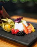 Dessert Trilogy, 3 Different Chef Choices of Dessert.