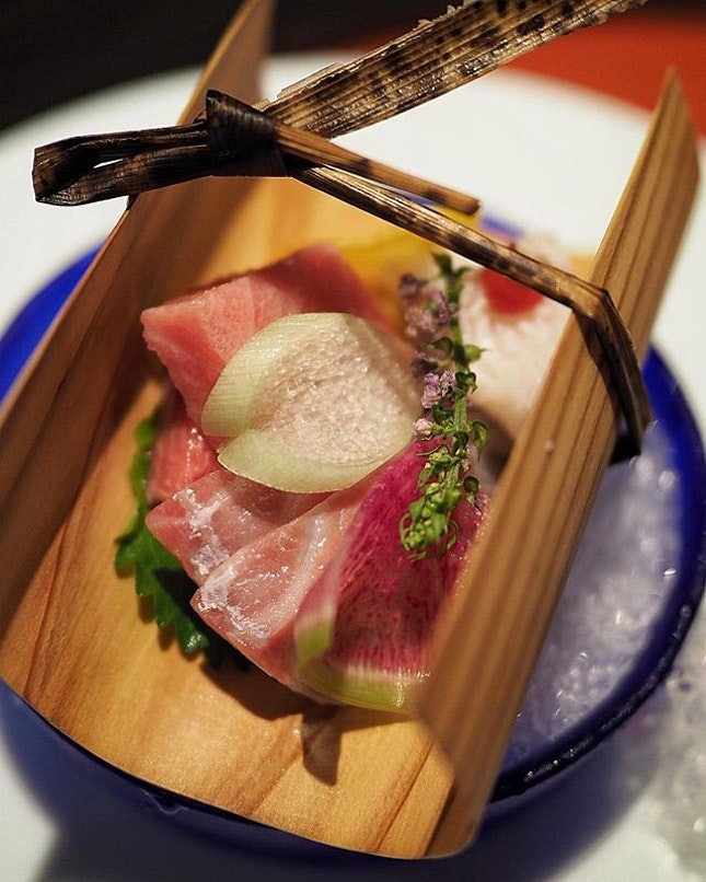 Shima Restaurant has unveiled their Summer Kaiseki Menu priced from $68++ (7 dishes) .