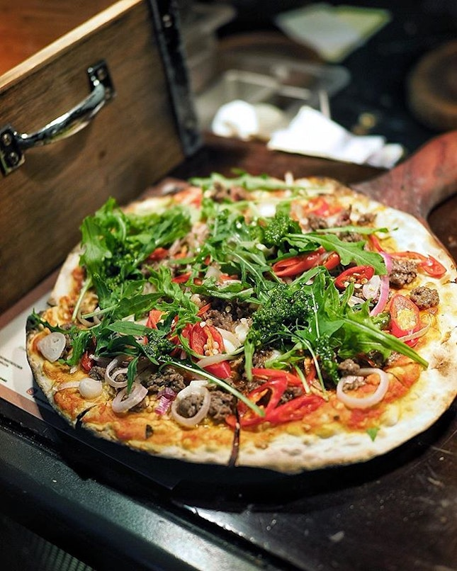 The ImpossibleTM Flatbread (S$24++) from @bsksingapore.