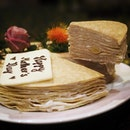 Teochew Orh-ni Crepes Cake ($88.00+) weight 1.3kg, serves up to 10 guests is available for both Mother's and Father's Day.
