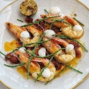 Roasted Spencer Gulf Prawns (Seaweed Butter, Lap Cheong Chilli Jam, Samphire).
