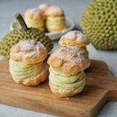How about some Durian Puff after your meal and it's good idea for a afternoon tea while working from home.