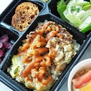 @neonpigeonsg has launch the new Bento Boxes delivery menu, which includes edamame hummus, salad, brown rice and a dessert.