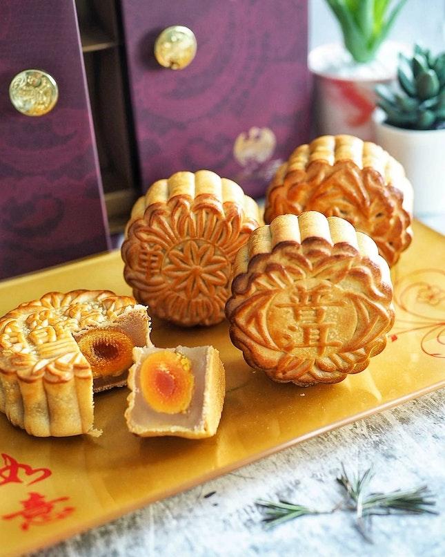 Baked Single Yolk Lychee Lotus Paste