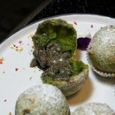 Deep-Fried Matcha Glutinous Rice Ball