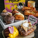 Signature cruffins, croissants and other bakes