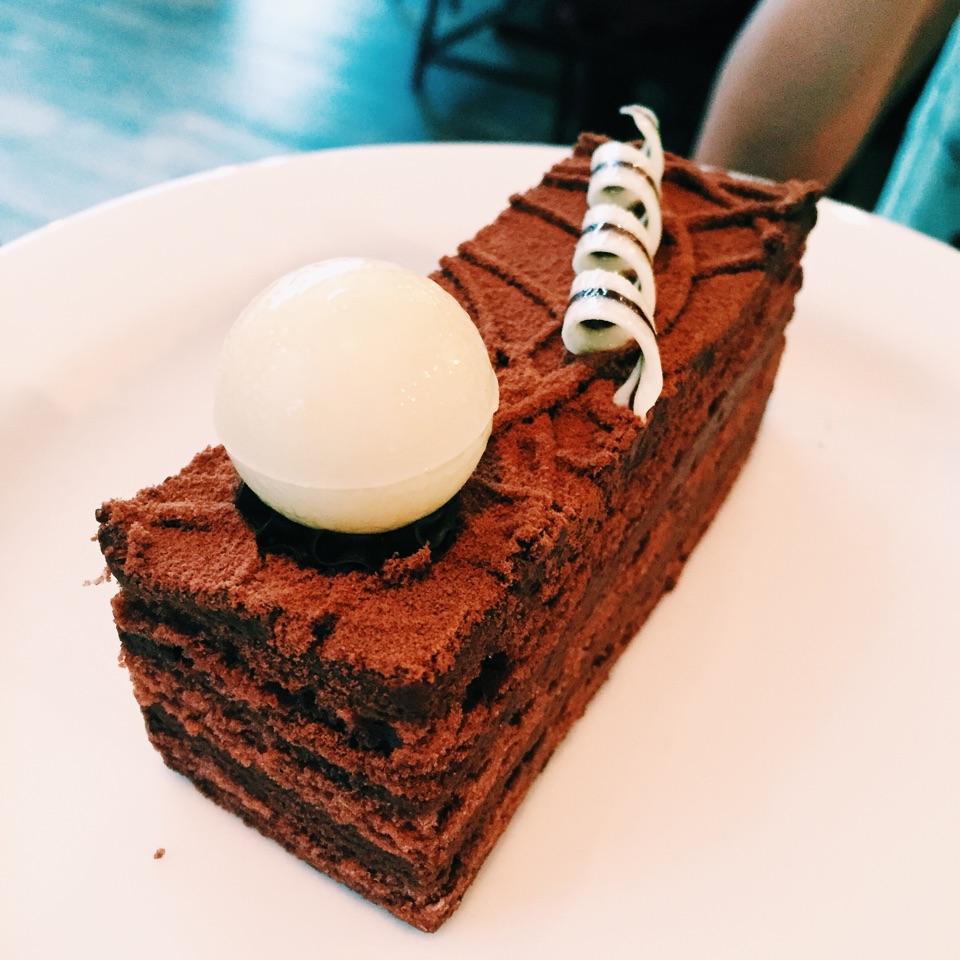 While Foods Chocolate Truffle Cake