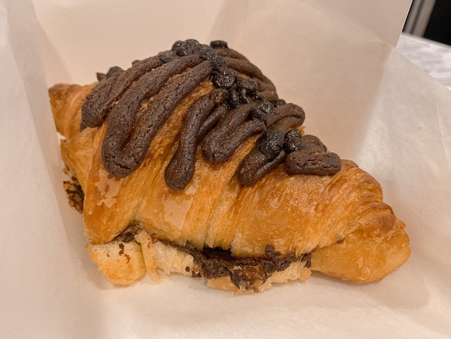 Double Chocolate Croissant
