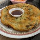 Garlic & Leek Pancake