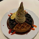 Waffle w Soft Serve