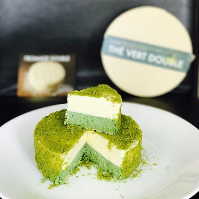 Matcha fromage cheesecake [$35] Only available in limited quantity of 30 portions/day, best to head down early avoid disappointment.