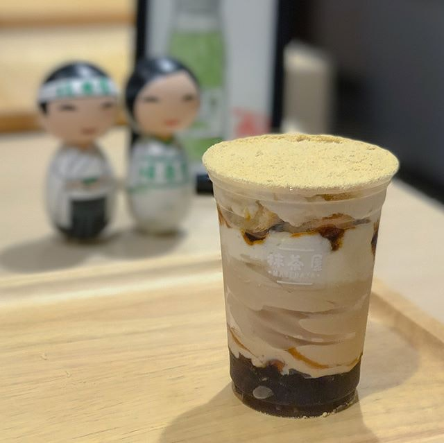 Kinako kuromitsu parfait [$8.90] New seasonal special that's only available till 17 sept!