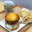 Tsukune burger - my favourite among the 3!