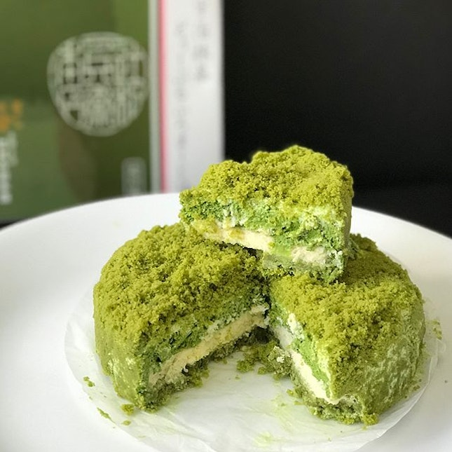 Uji Matcha Double Fromage [$26] Apart from the highly raved softserve, @tsujirihei_honten at Takashimaya's ongoing fair also offers a selection of cakes and matcha delights as well!