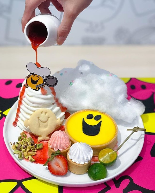 Mr Happy's Cheerful Calamansi Strawberry Tart [$18.90+] .