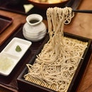 1️⃣Seiro soba [$10.50++] Served chilled, these cold soba noodles are hand-made using buckwheat flour, coming with a wheat-like flavour and a slightly chewy, springy texture.