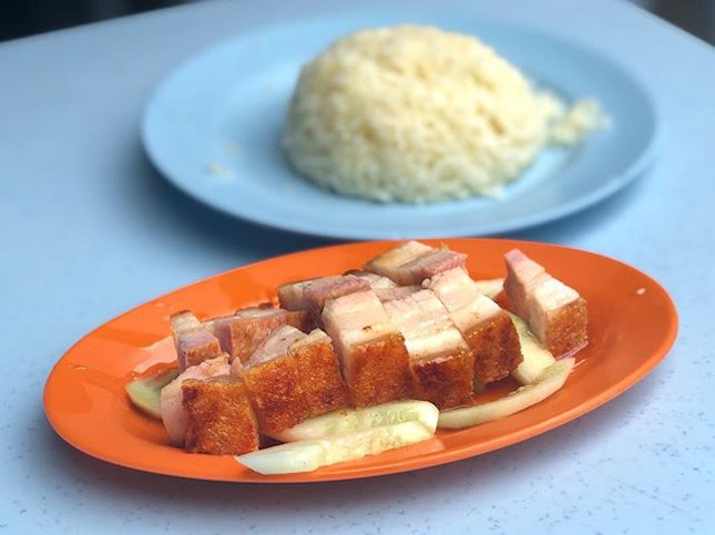 When I asked for recommendations for roast pork in KL, several people mentioned Wong Mei Kee in Pudu.
