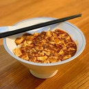 Chen Mapo Tofu's Mapo Don is very dangerous- it makes you finish all your rice!