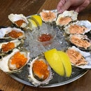 Who knew adding mentaiko to fresh oyster would be so delicious?