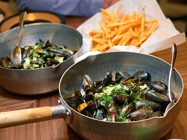 Here's where you get your mussels fix - BTM Mussels & Bar.