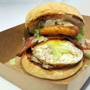 The BIG BOSS Burger ($9 Only!!!) - Big On Flavour, Big On Satisfaction