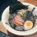 Aburi Duck Ramen ($13.90++) from Menya Musashi which is one of the longest-running ramen places here in Singapore.