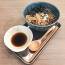 Gyu Soba ($7.90): Just very happy that two of my favourite things plus an onsen tamago (additional $1 top up) are together in the same bowl at a relatively affordable price!