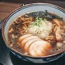 Shoyu Ramen ($15) from Sapporo Ramen Shirakaba Sansou at Hokkaido Marche.